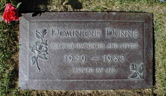 Dominique Dunne 1959 1982